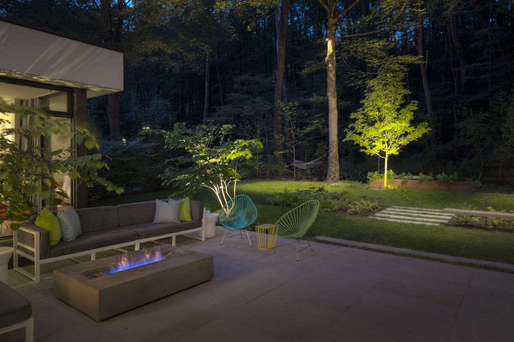 Subtle Landscape Lighting