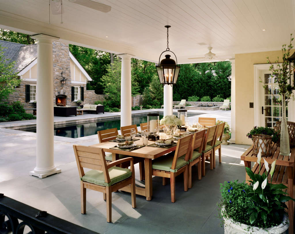 The Covered Dining Porch