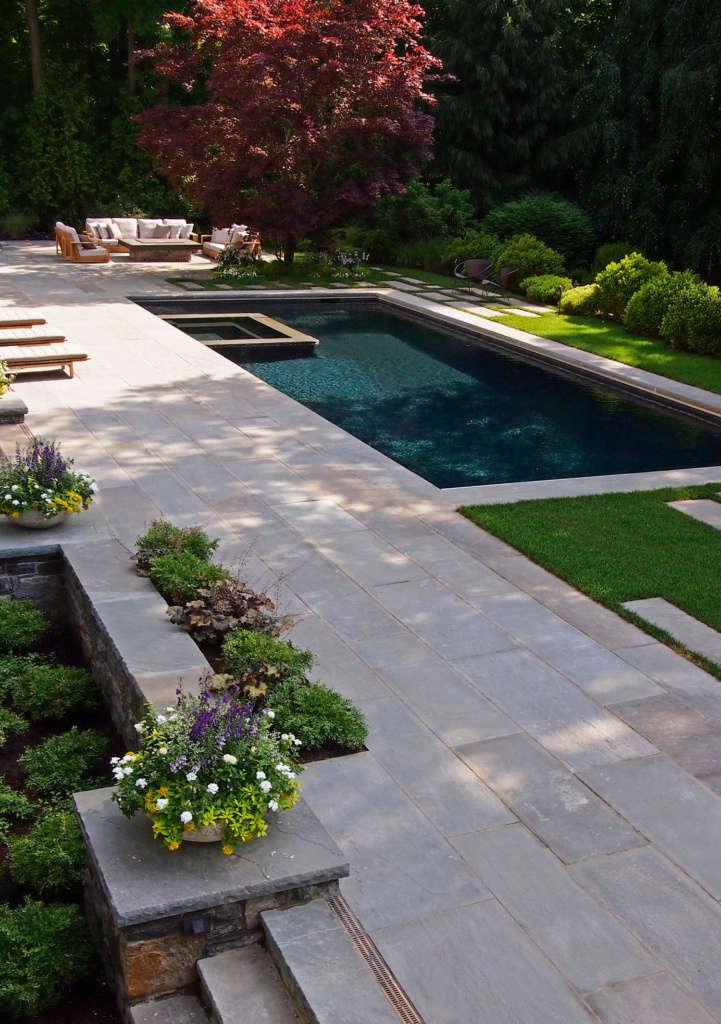 A Poolside Landscape