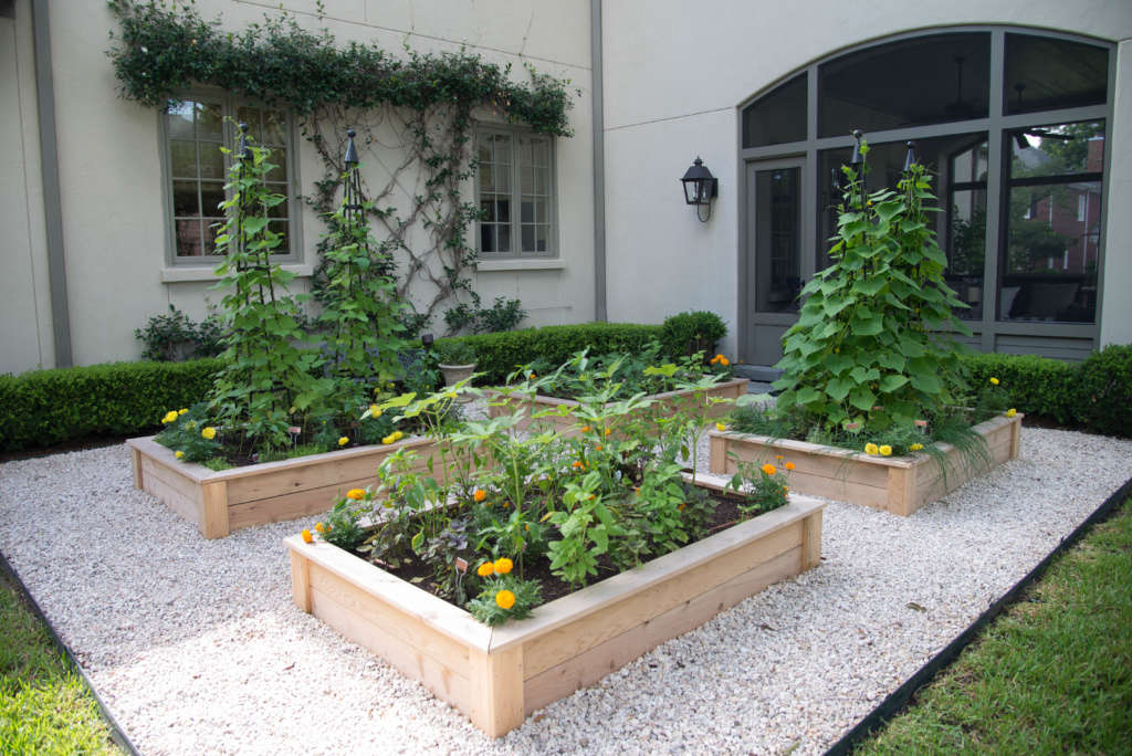 Summer Porch Garden