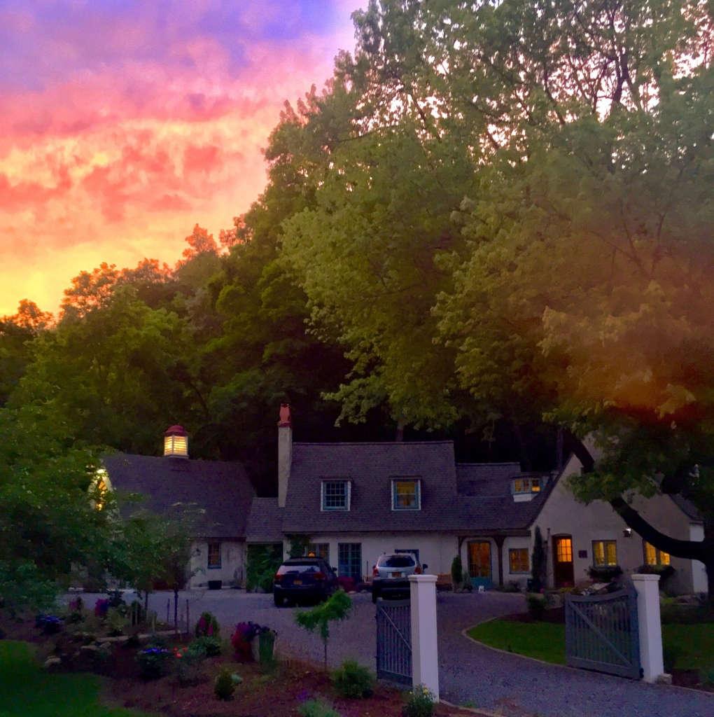 Sunset over Glen Hollow