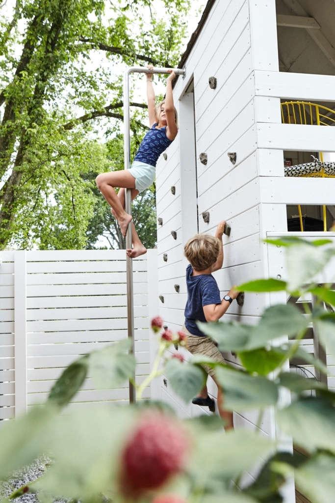 Climb, slide , repeat.
