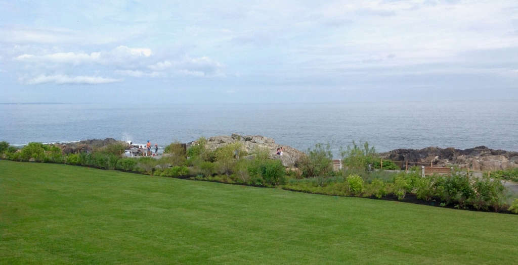 A Panoramic View of the New Seaside Garden