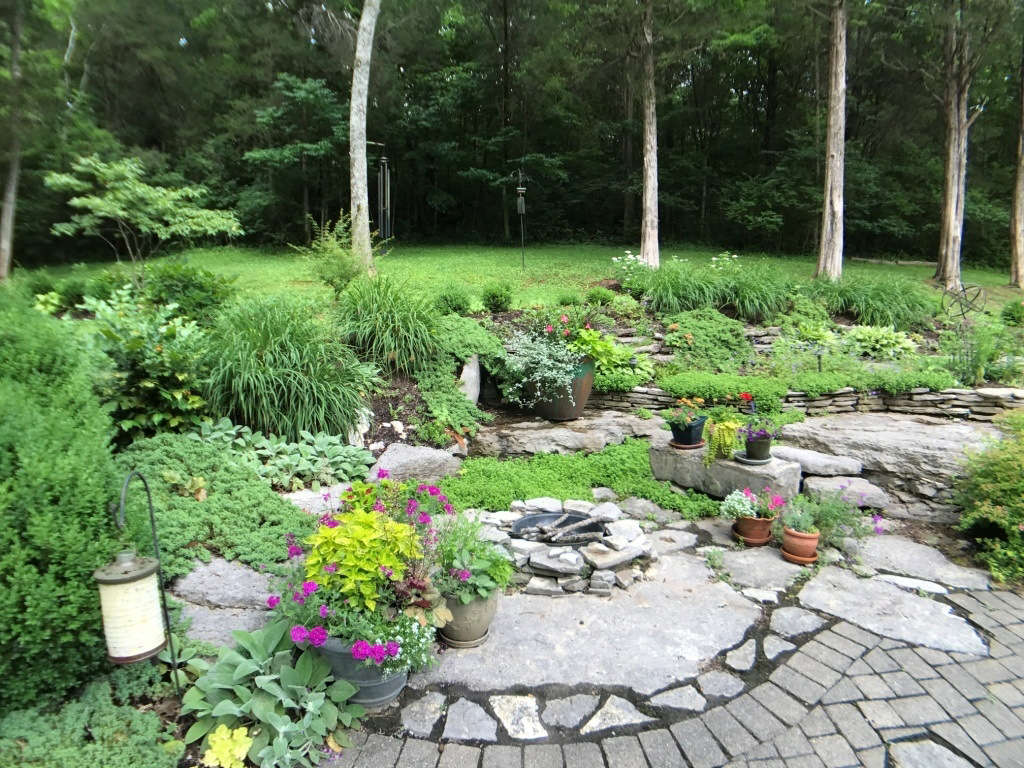 Rock Garden Entry