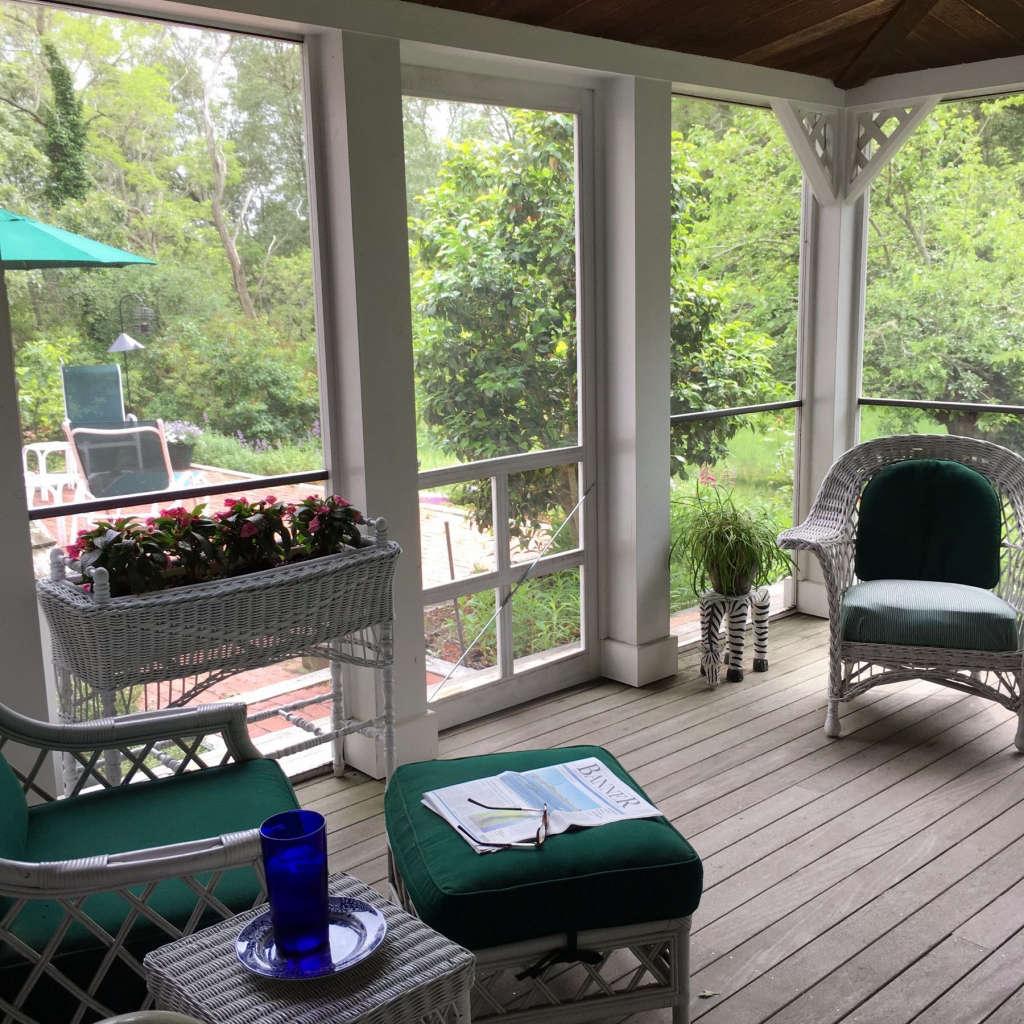 18 x 20 screened porch