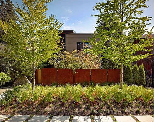 Robert Edson Swain - Madison Park Garden 1
