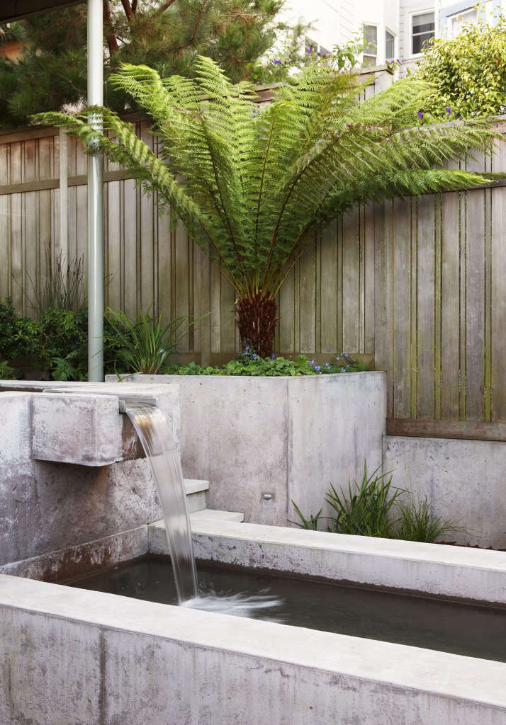 Fountain and Planter