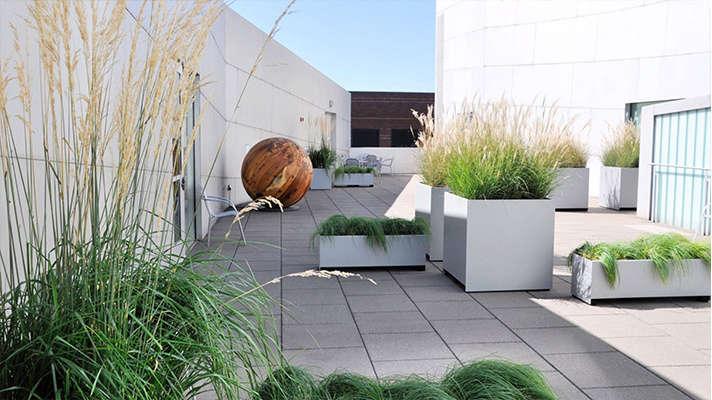 Robert Edson Swain - Bellvue Art Museum Courtyard 1