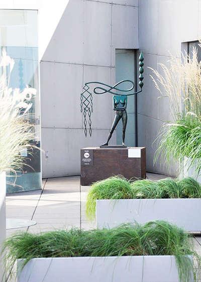 Robert Edson Swain - Bellvue Art Museum Courtyard 2