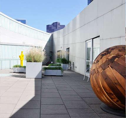 Robert Edson Swain - Bellvue Art Museum Courtyard 3