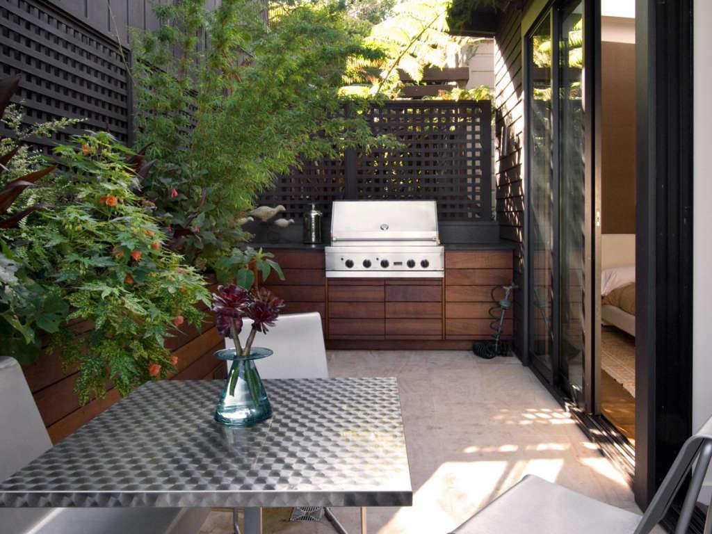 A terrace garden in San Francisco