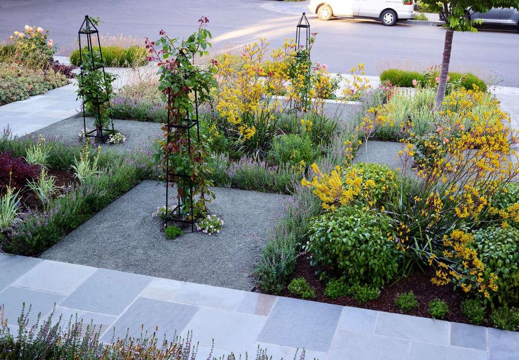 Interplay of Garden and Neighborhood