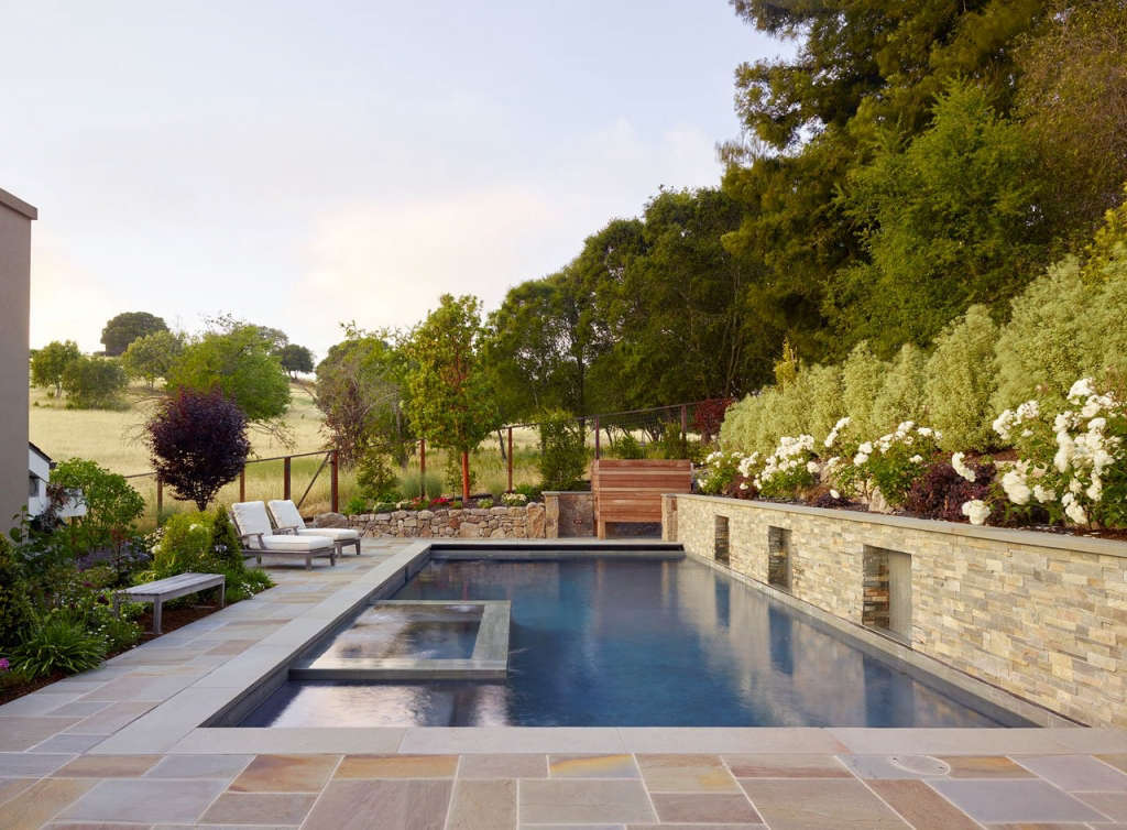 Secluded Pool and Spa