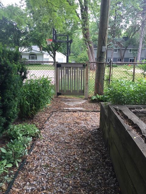 Garden gate for neighbors
