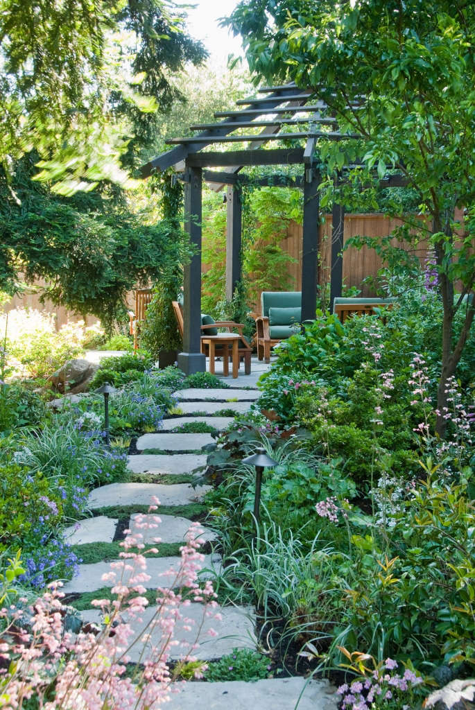 Path to Edibles Garden