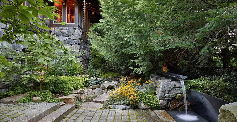 Robert Edson Swain - Aboretum Landmark Garden 1