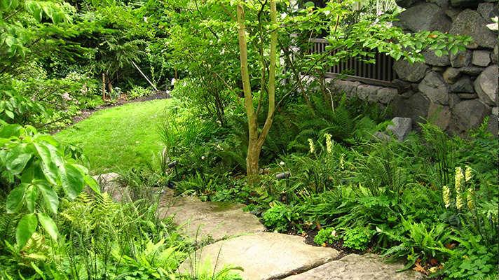 Robert Edson Swain - Aboretum Landmark Garden 3