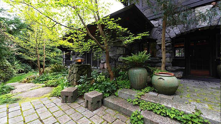 Robert Edson Swain - Aboretum Landmark Garden 4