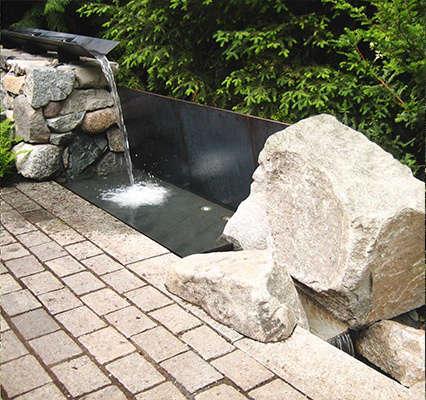 Robert Edson Swain - Aboretum Landmark Garden 5