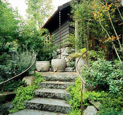 Robert Edson Swain - Arboretum Landmark Garden 6