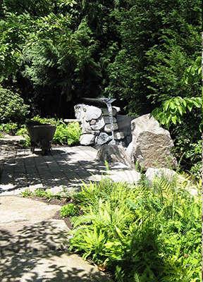 Robert Edson Swain - Arboretum Landmark Garden 8