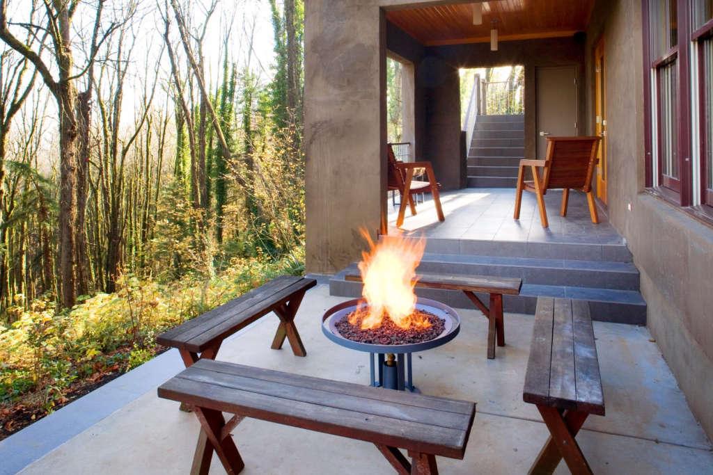 Fire Pit: Winter