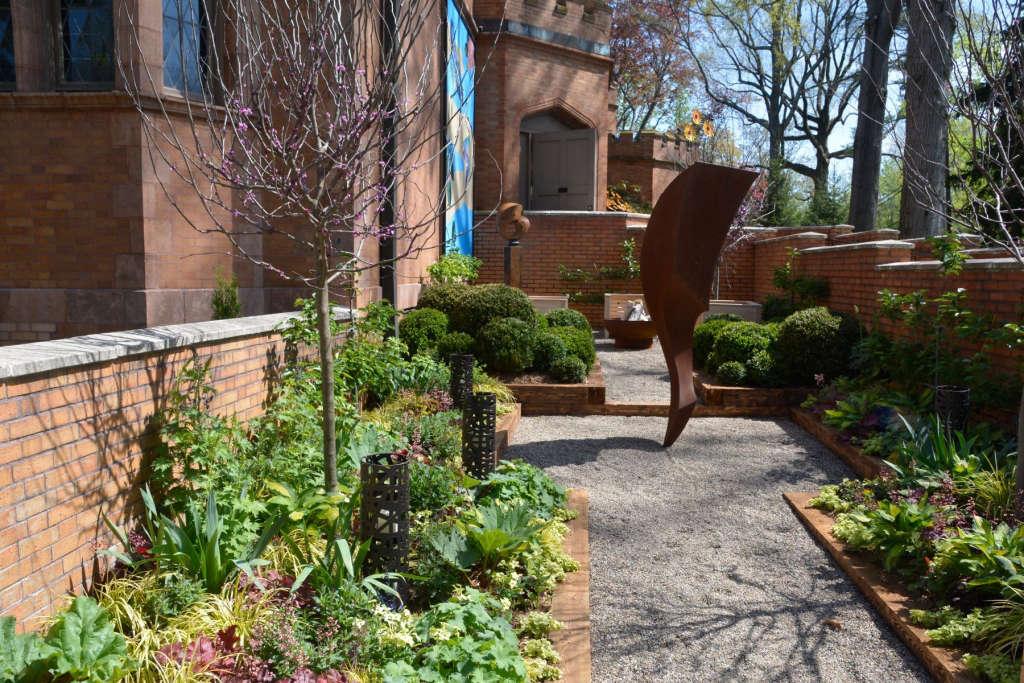 Walled Courtyard Garden