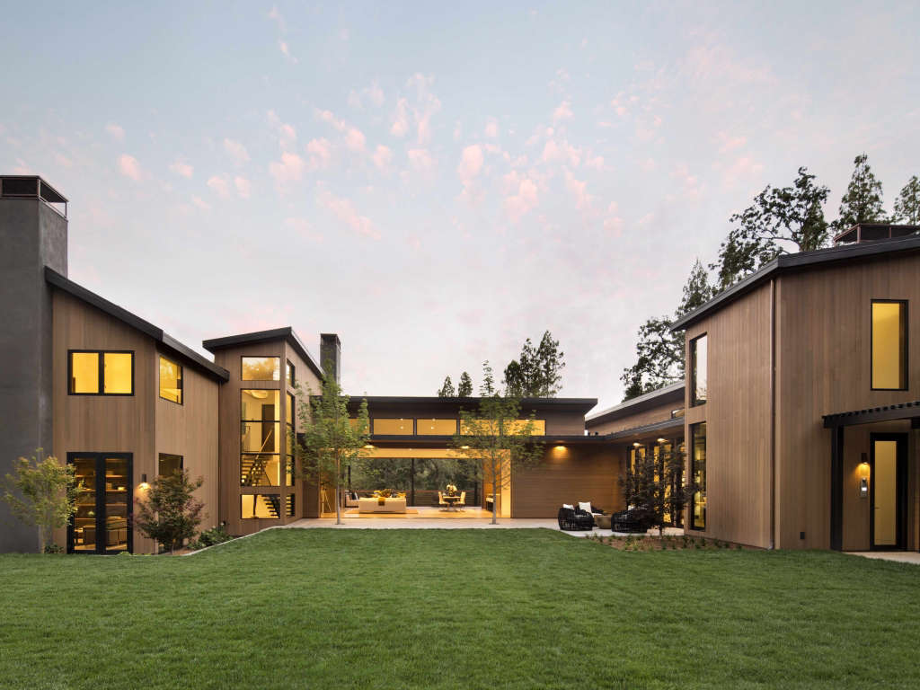Atherton Modern Curb Appeal 1