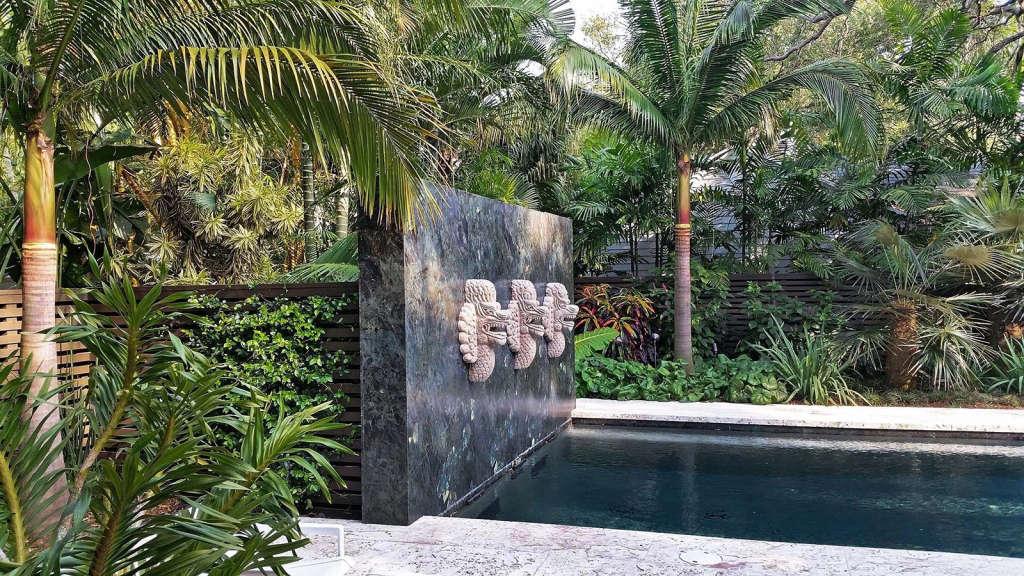 Pool Terrace  | Oak Garden at Silver Bluff | Miami, Florida