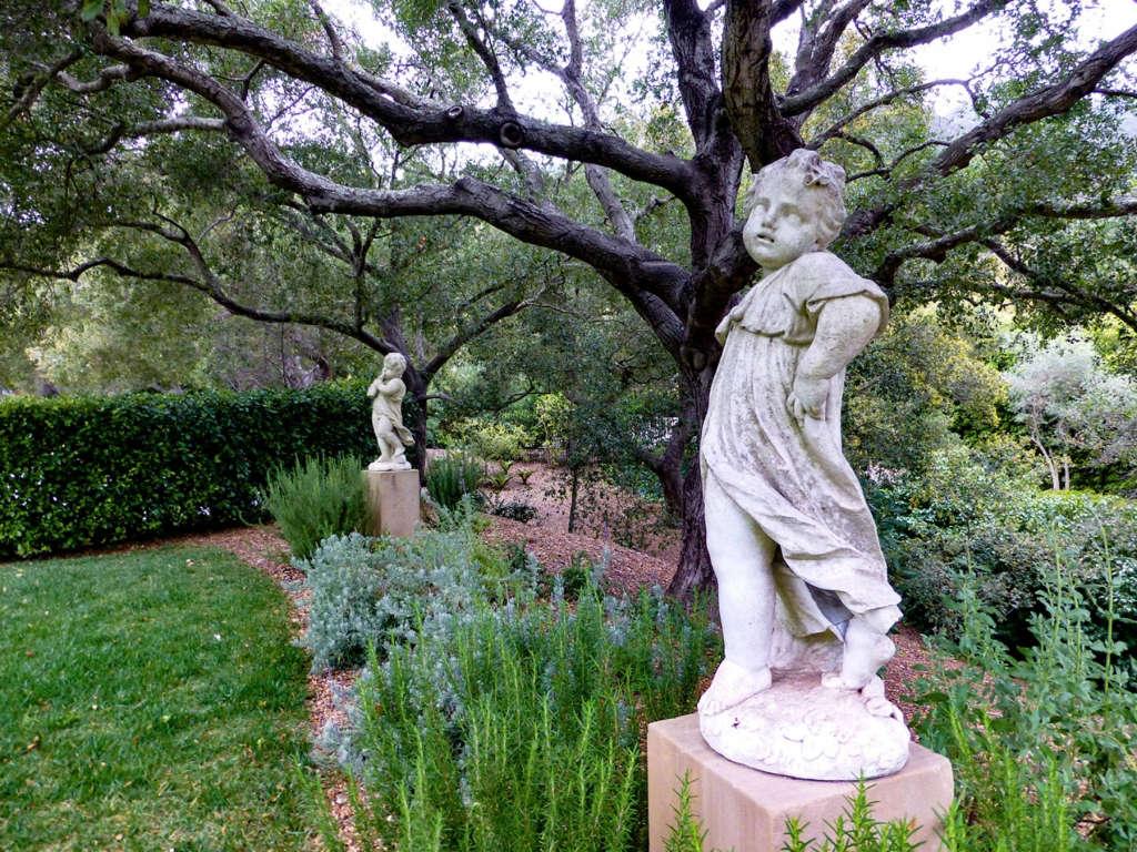 Statuary in Garden