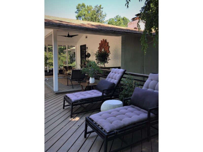 Back Deck and Porch