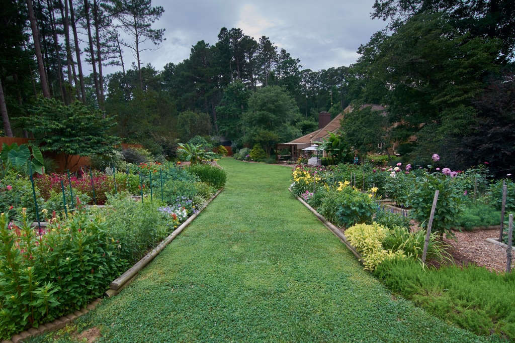 Main Gardens, Looking Toward the Backyard